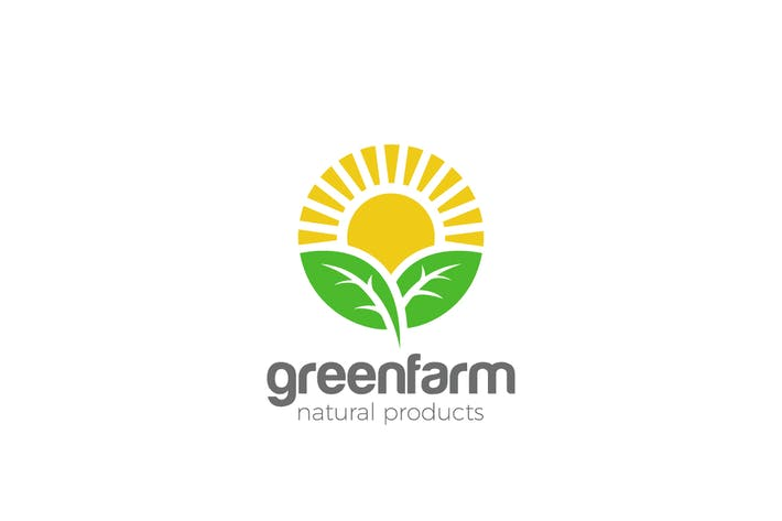 Thumbnail for Logo Sun Green Organic Eco Natural Farm products