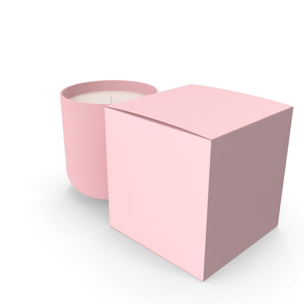 Thumbnail for Pink Candle with Box