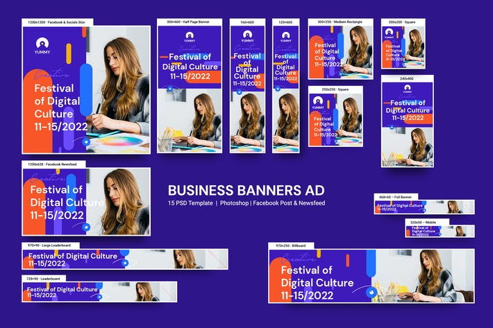 Thumbnail for Business Banners Ad