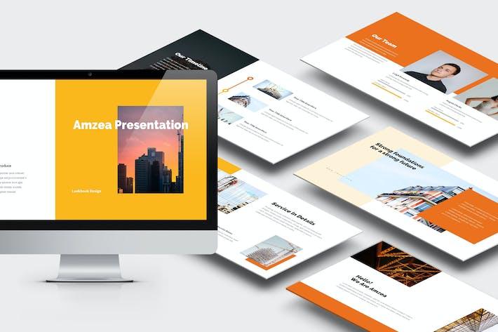 Thumbnail for Amzea: Bauprojekt Keynote