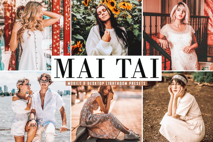 Thumbnail for Mai Tai Mobile & Desktop Lightroom Presets