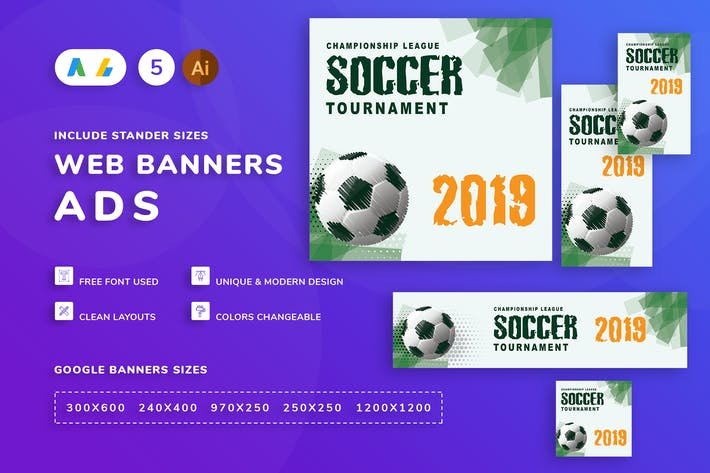 Thumbnail for Football Banner