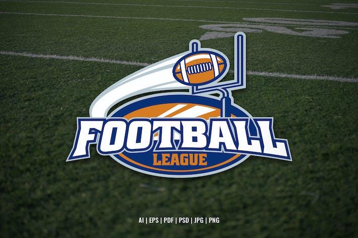 Football League Event Logo Template