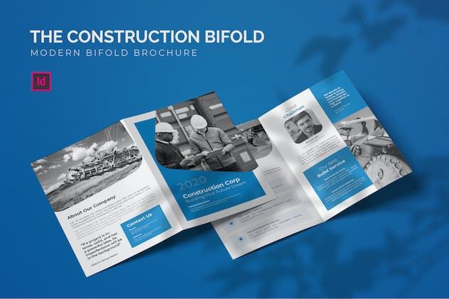 Construction - Bifold Brochure