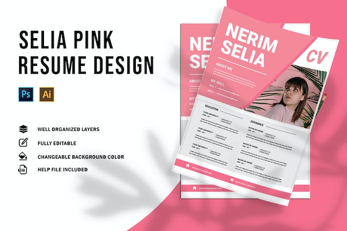 Thumbnail for Selia Pink | CV & Resume