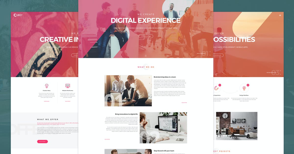 Download Owkey - Multi-Concept HTML5 template by KL-Webmedia