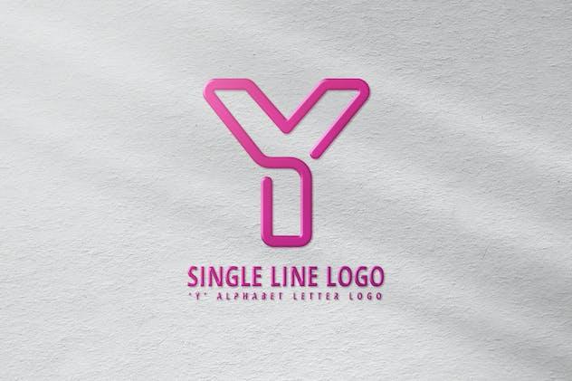 Y Single Line Logo