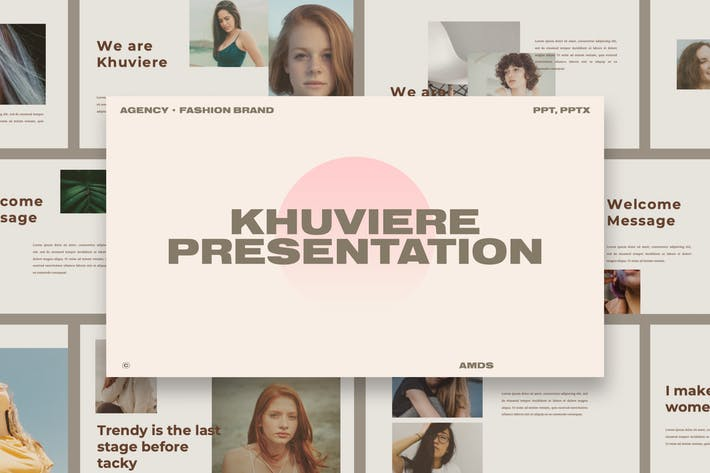 Thumbnail for Khuivere - Fashion Brand Presentation