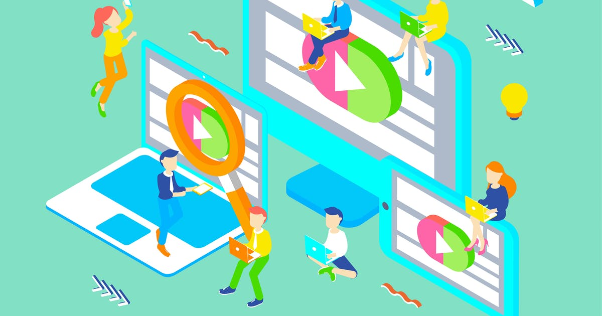 Download Video Tutorial Isometric Illustration by angelbi88