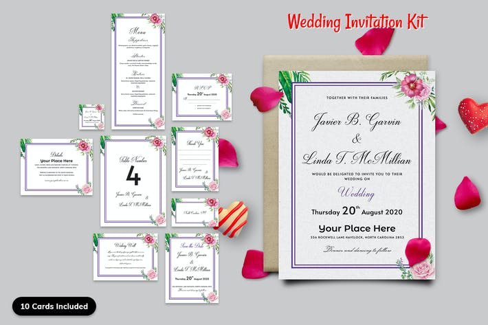 Thumbnail for Wedding Invitation Kit-08