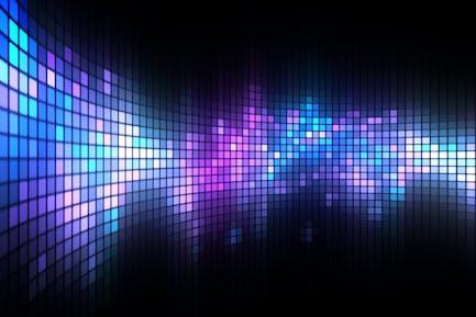 Dance Light Wall Background