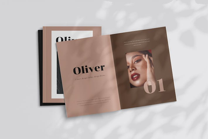 Thumbnail for Olivier - Fashion Magazine Template