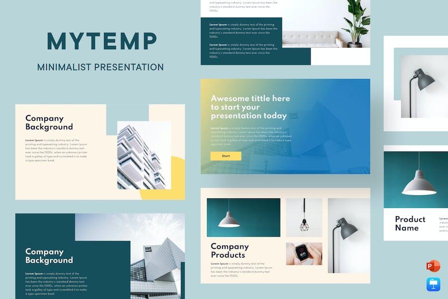 Mytemp - Minimal & Modern Presentation