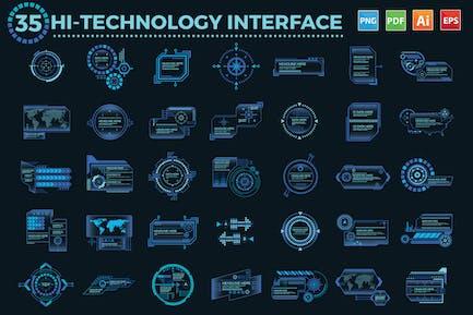 35 Hi-Technology Interface design