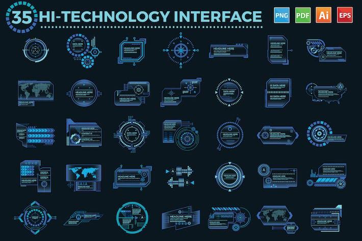 Thumbnail for 35 Hi-Technology-Schnittstellendesign