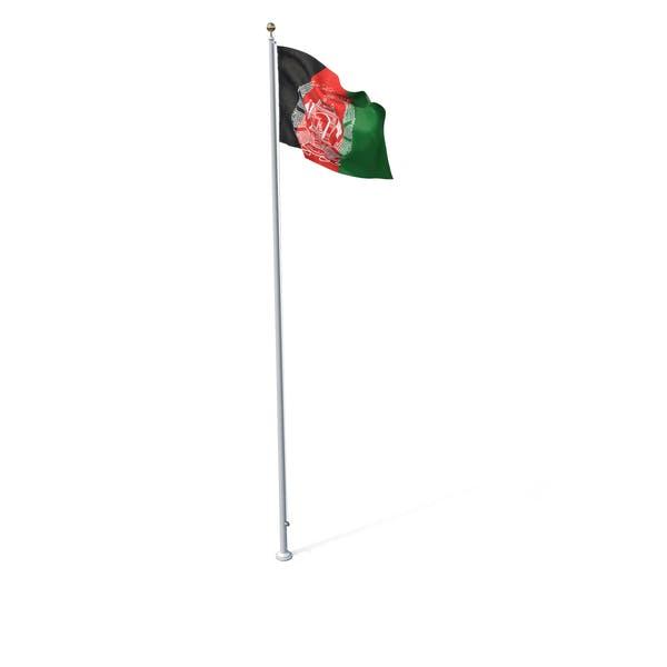 Thumbnail for Flag On Pole Afghanistan