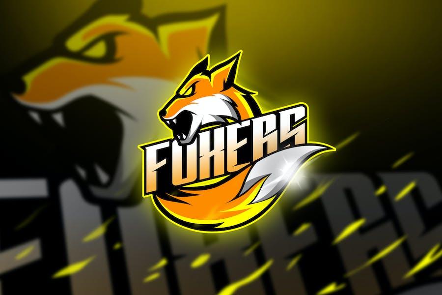 Foxers - Mascot & Logo Esport