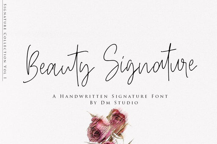 Thumbnail for Beauty Signature - Fuente manuscrita