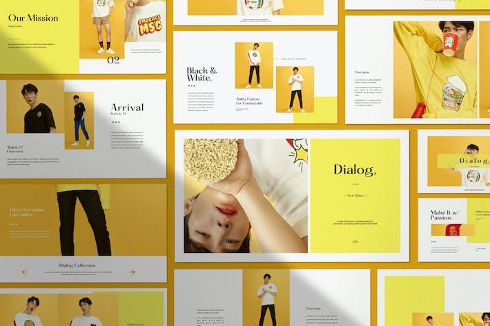 Thumbnail for Dialog - Business Marketing Google Slide