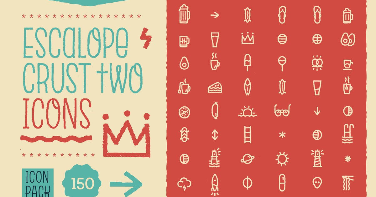 Download Escalope Crust Two Icons by antipixel