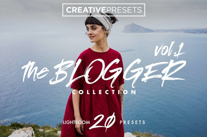 Cover Image For The Blogger Collection - Lightroom Presets