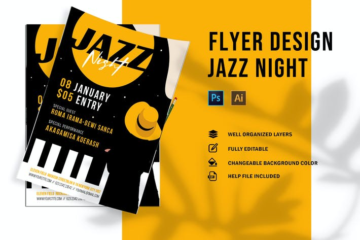 Thumbnail for Jazz Night | Flyer