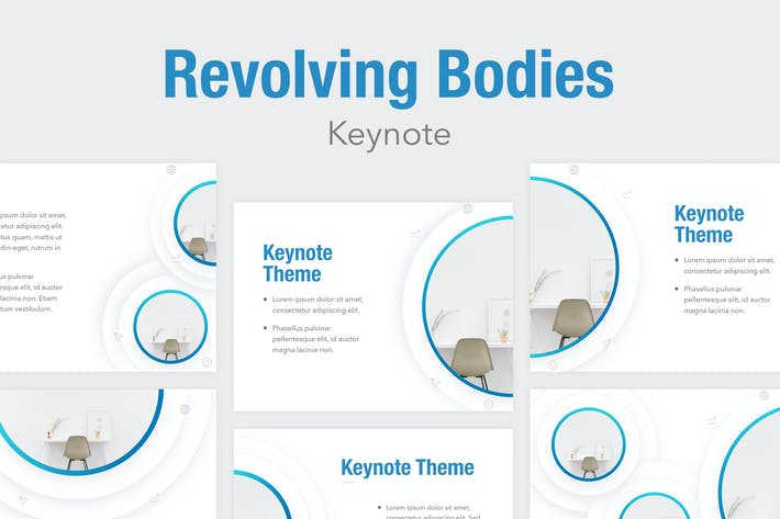 Cover Image For Revolving Bodies Keynote Template