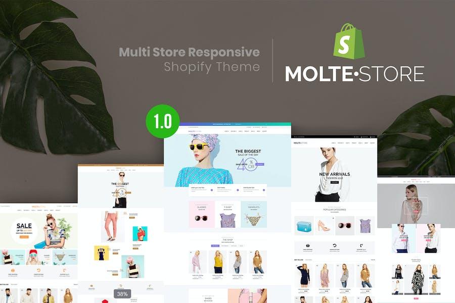 MolteStore - Multi Store Responsive Shopify Thème