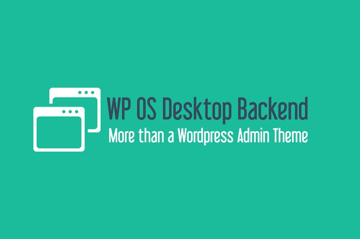 Cover Image For WP OS Desktop Backend