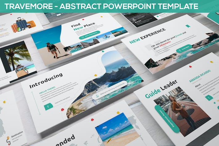 Thumbnail for Travemore - Abstract Powerpoint Template