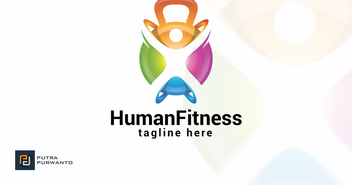 Download Human Fitness - Logo Template by putra_purwanto