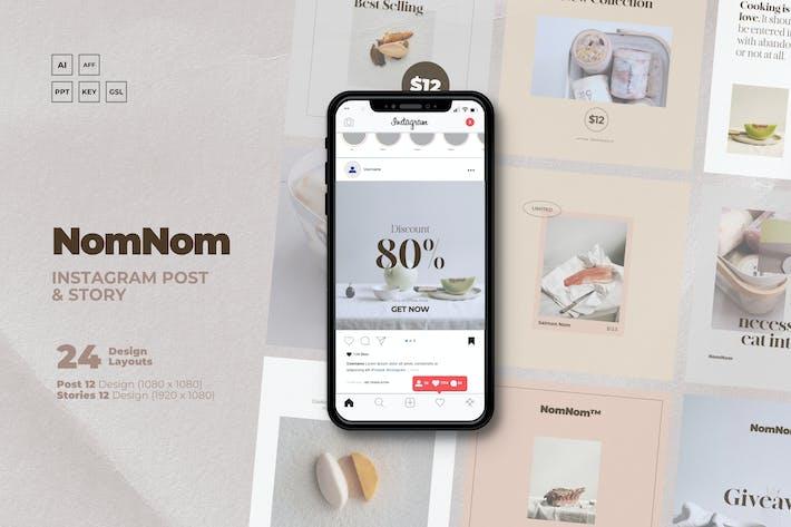 Thumbnail for NoMnom - F&B Clean IG Vorlage