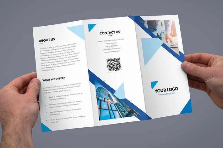 Thumbnail for Brochure – Triangle Multipurpose Tri-Fold