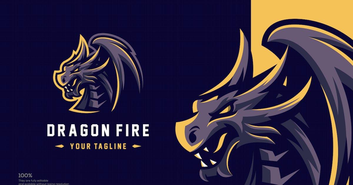 Download Dragon esport logo design by albert_kalingga