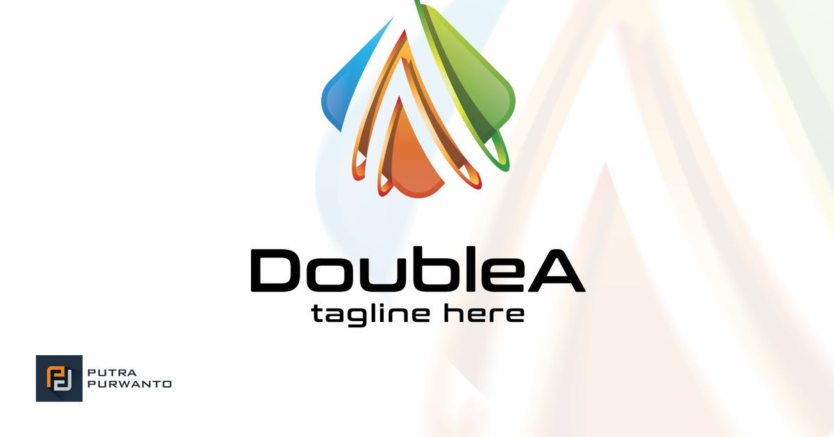 Download Double A / Letter A - Logo Template by putra_purwanto