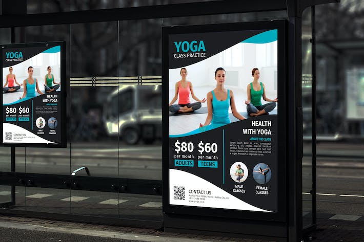 Thumbnail for Yoga - Promotion Poster RB