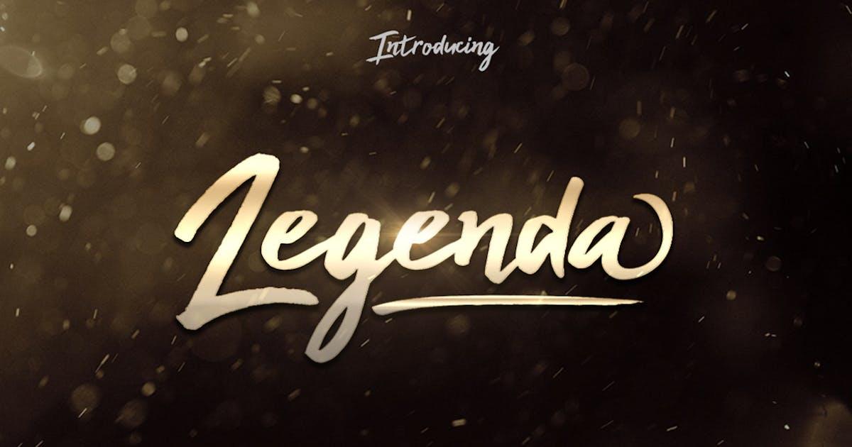 Download Legenda Brush Script by khurasan