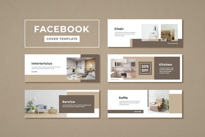 Thumbnail for Facebook Cover Template Furniture Interior Design