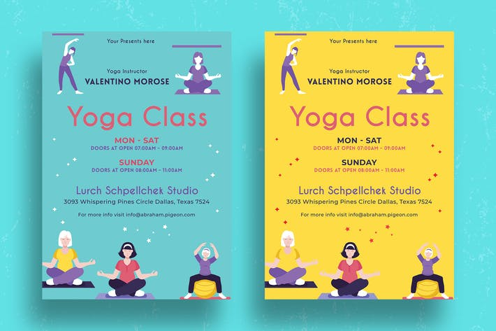 Thumbnail for Yoga Class Flyer-04