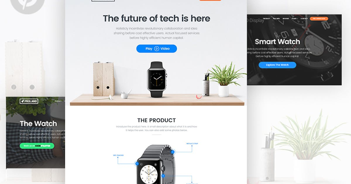 Download Unbounce Product landing Page Template - Proland by surjithctly