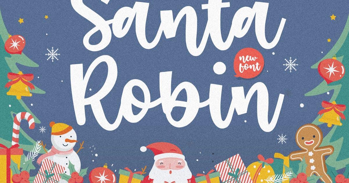 Download Santa Robin Display Font YH by GranzCreative
