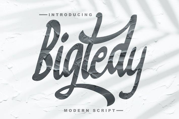 Thumbnail for Bigtedy Modern Script