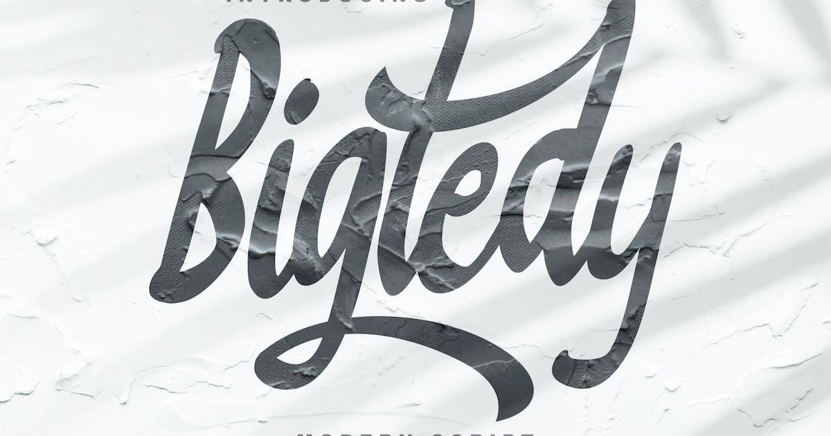 Download Bigtedy Modern Script by Fannanstudio