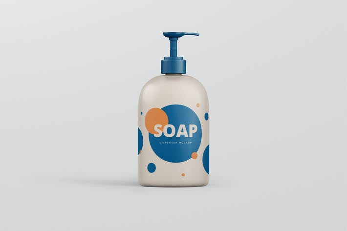 Thumbnail for Soap Dispenser Mockup Big Size