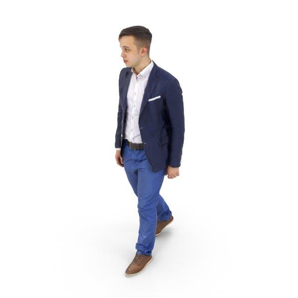 Man Walking Business