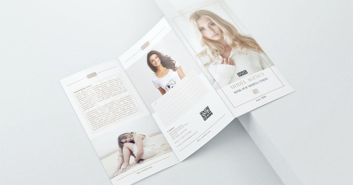 Download DL Trifold Brochure Mockups by StreetD