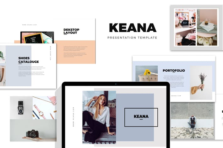 Thumbnail for Keana : Fashion, Clothing & Lifestyle Keynote