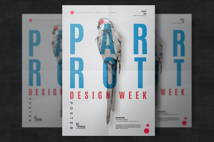 Thumbnail for Minimal Event Flyer Template