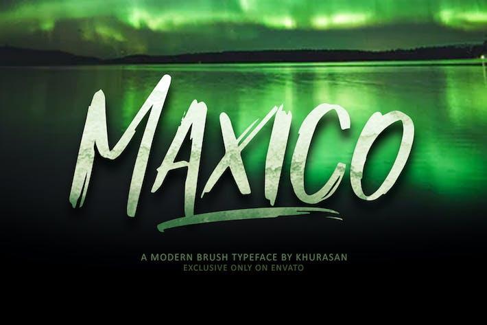 Thumbnail for Fuente de pincel maxico