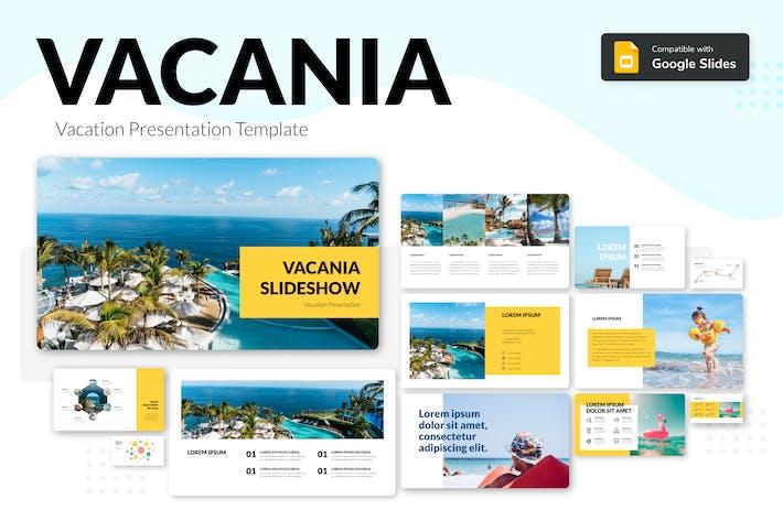 Thumbnail for VACANIA - Vacation Presentation Template